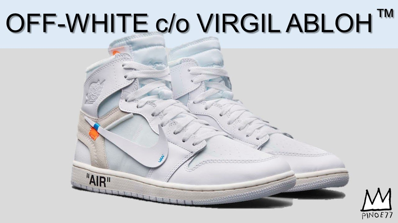 OFF WHITE x AIR JORDAN 1 ONLY 323 PAIRS OF THE AIR JORDAN 32 NRG MORE - OFF WHITE x AIR JORDAN 1, ONLY 323 PAIRS OF THE AIR JORDAN 32 NRG & MORE!!