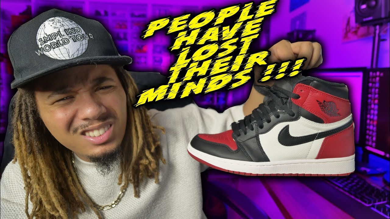 PEOPLE LOST THEIR MINDS TODAY OVER THE BRED TOE 1S !!! WHY DRAKE MAY BE  SIGNING TO ADIDAS !!!