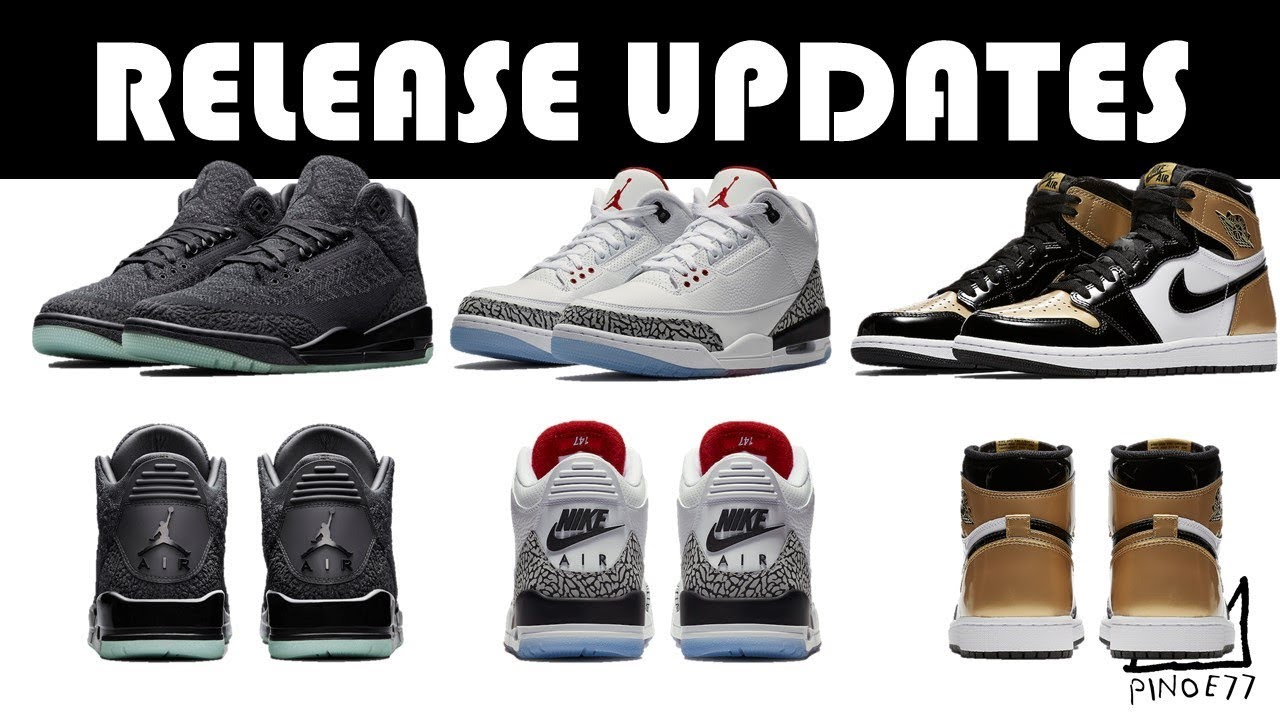 RELEASE UPDATES FOR THE FREE THROW LINE 3 GOLD TOE 1 FLYKNIT 3 MORE - RELEASE UPDATES FOR THE FREE THROW LINE 3, GOLD TOE 1, FLYKNIT 3 & MORE!!