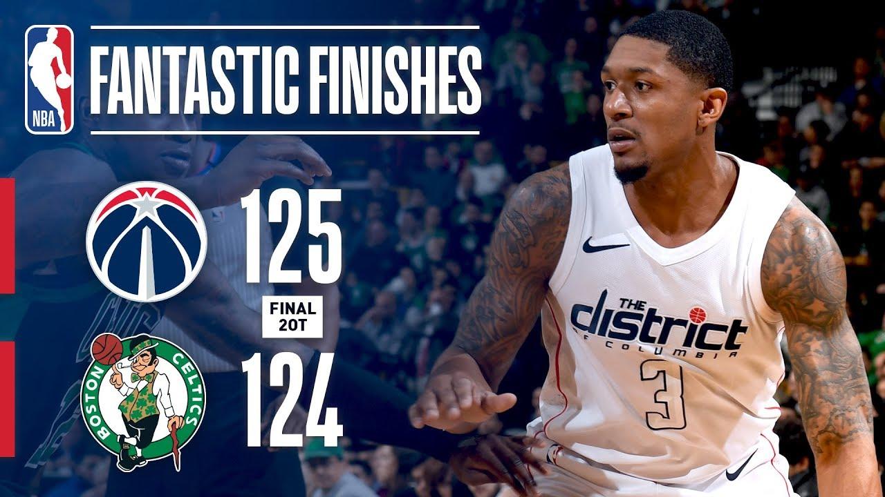 A Double Overtime Thriller Boston Celtics vs Washington Wizards - A Double Overtime Thriller: Boston Celtics vs Washington Wizards!