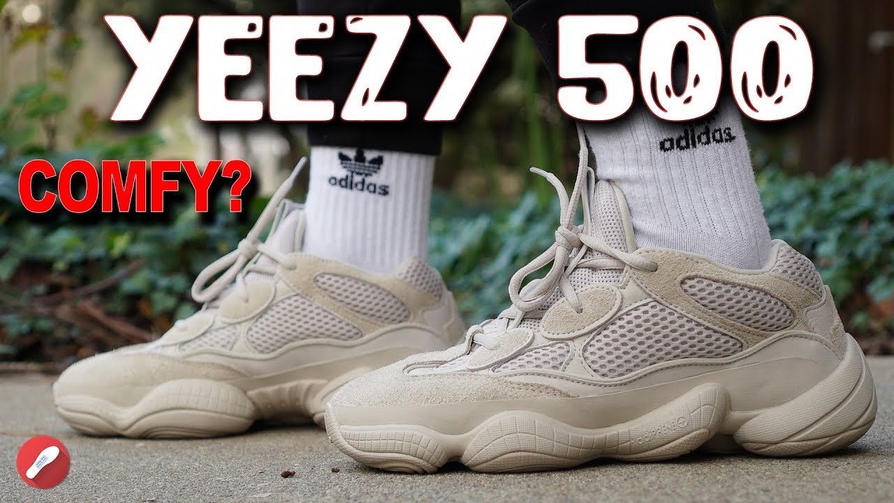 e2c30163f Adidas Yeezy Desert Rat 500 Blush Review Is it Comfortable - Adidas Yeezy  Desert Rat 500