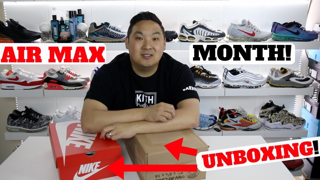 Air Max Month Is HERE Unboxing 2 NEW NIKES 1000 Contest - Air Max Month Is HERE!! Unboxing 2 NEW NIKES!! + $1000 Contest