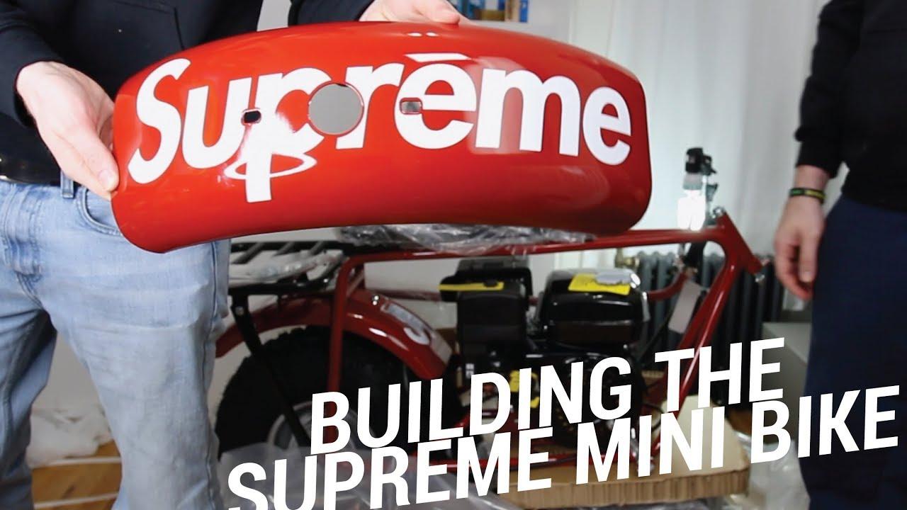 BUILDING THE SUPREME MINI BIKE - BUILDING THE SUPREME MINI BIKE