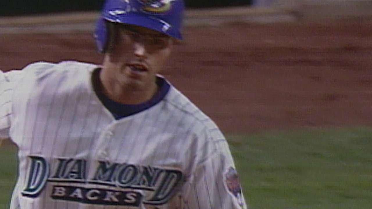COLARI Travis Lee hits D backs first franchise homer - COL@ARI: Travis Lee hits D-backs' first franchise homer