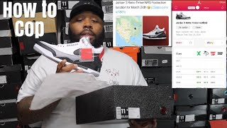 "HOW TO COP JORDAN 3 TINKERS SNKRS APP SECRETS DONT BUY TINKER 3s BEFORE WATCHING THIS - HOW TO COP JORDAN 3 ""TINKERS "" SNKRS APP SECRETS? DONT BUY TINKER 3s BEFORE WATCHING THIS"