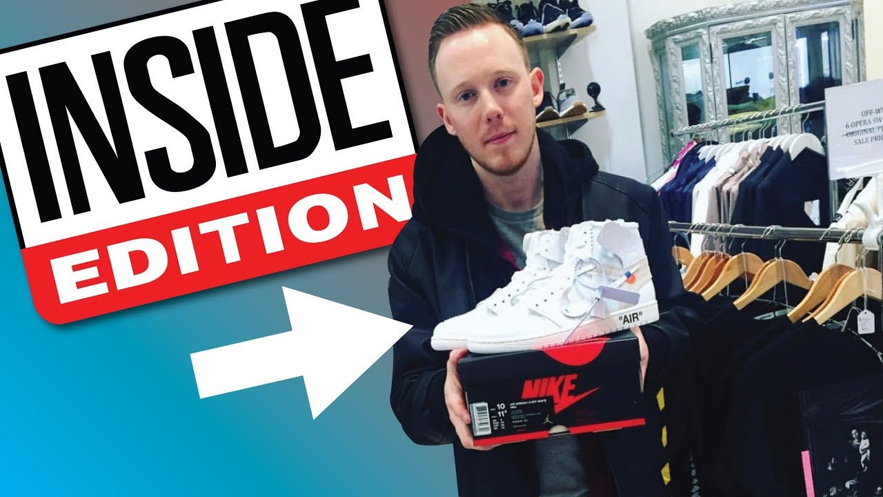 INVITED TO INSIDE EDITION BUYING OFF WHITE GRAILS - INVITED TO INSIDE EDITION! + BUYING OFF WHITE GRAILS!