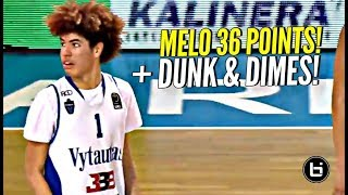 LaMelo Ball Scores 36 Points Throws Down ONE HAND OOP BBB Showcase - LaMelo Ball Scores 36 Points & Throws Down ONE HAND OOP!! BBB Showcase!