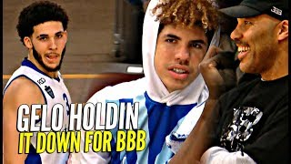 LiAngelo Ball HOLDS IT DOWN w LaVar Melo Watching LKL League Game - LiAngelo Ball HOLDS IT DOWN w/ LaVar & Melo Watching! LKL League Game