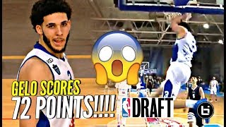 LiAngelo Ball SCORES 72 POINTS DECLARES FOR NBA DRAFT In Lithuania - LiAngelo Ball SCORES 72 POINTS & DECLARES FOR NBA DRAFT In Lithuania!!!