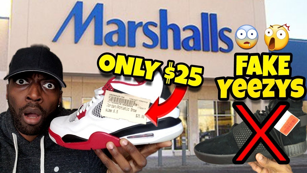 Marshalls has Fake Yeezys and Jordans for ONLY 25 At Platos Closet -  Marshall's has Fake