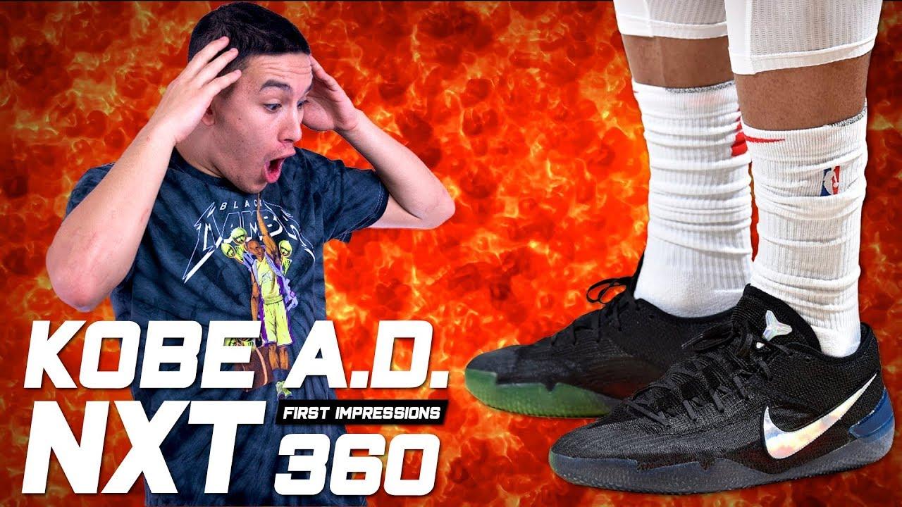 NEW KOBE ALERT Nike Kobe A.D. NXT 360 First Impressions - NEW KOBE ALERT!!!! | Nike Kobe A.D. NXT 360 - First Impressions