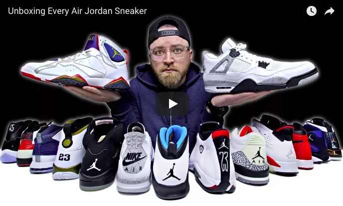 Screen Shot 2018 03 03 at 2.09.47 PM - Unboxing Every Air Jordan Sneaker
