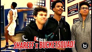 Shareef ONeal Gets a Special Visit From Jesser LSK Then SHOWS OUT State Playoffs Game 2 - Shareef O'Neal Gets a Special Visit From Jesser & LSK Then SHOWS OUT!!! State Playoffs Game 2!!