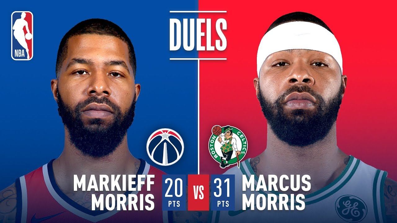 Theres A Morris Twins Family Feud in Double OT In Boston - There's A Morris Twins Family Feud in Double OT In Boston!