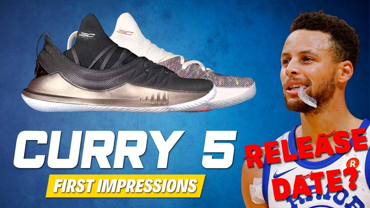Under Armour Curry 5 RELEASE DATE First Impressions - Under Armour Curry 5 RELEASE DATE? + First Impressions