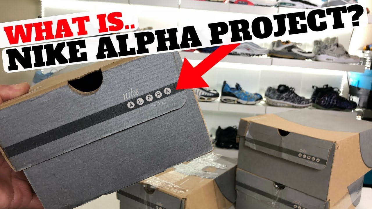 What Is Nike ALPHA PROJECT New Pickup From 2002 - What Is Nike ALPHA PROJECT? New Pickup From 2002!!