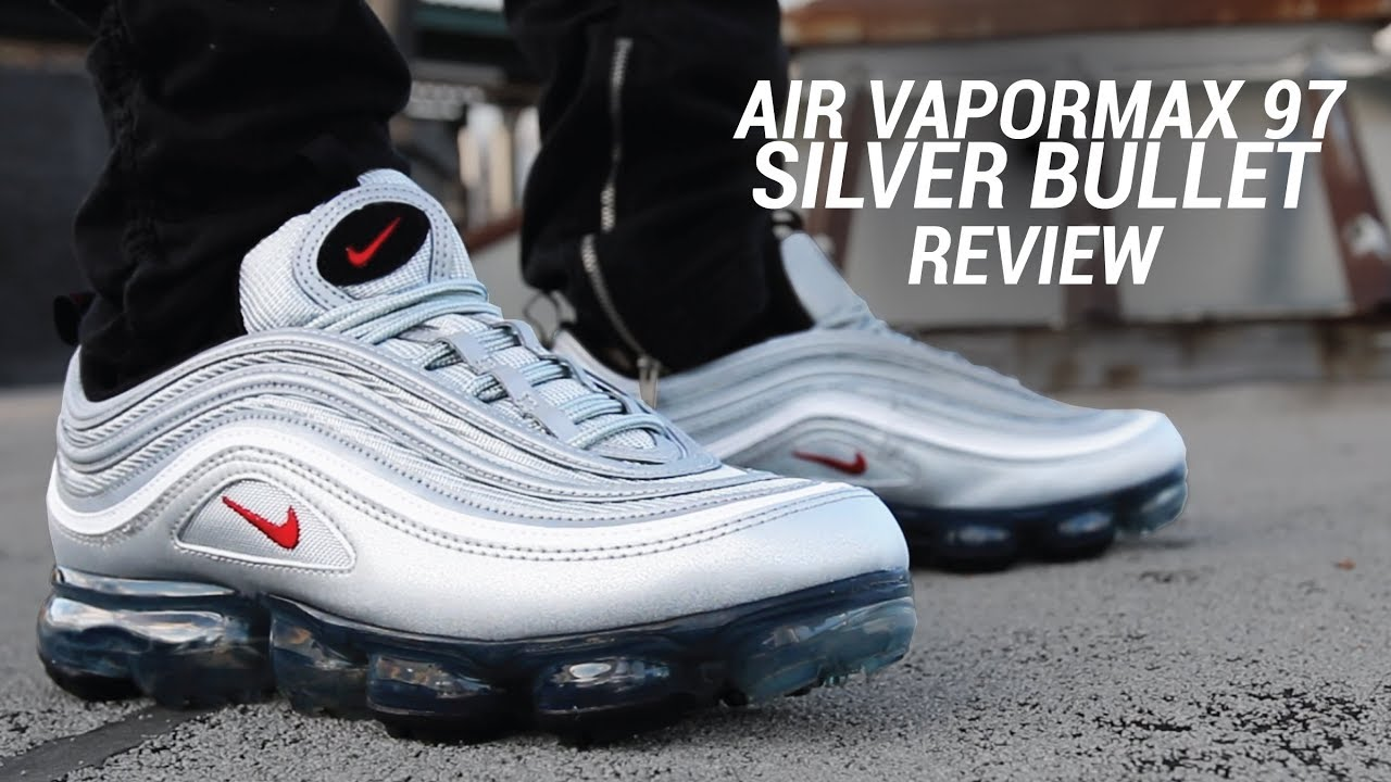 NIKE AIR MAX 97 SILVER BULLET 20TH ANNIVERSARY REVIEW + ON FOOT