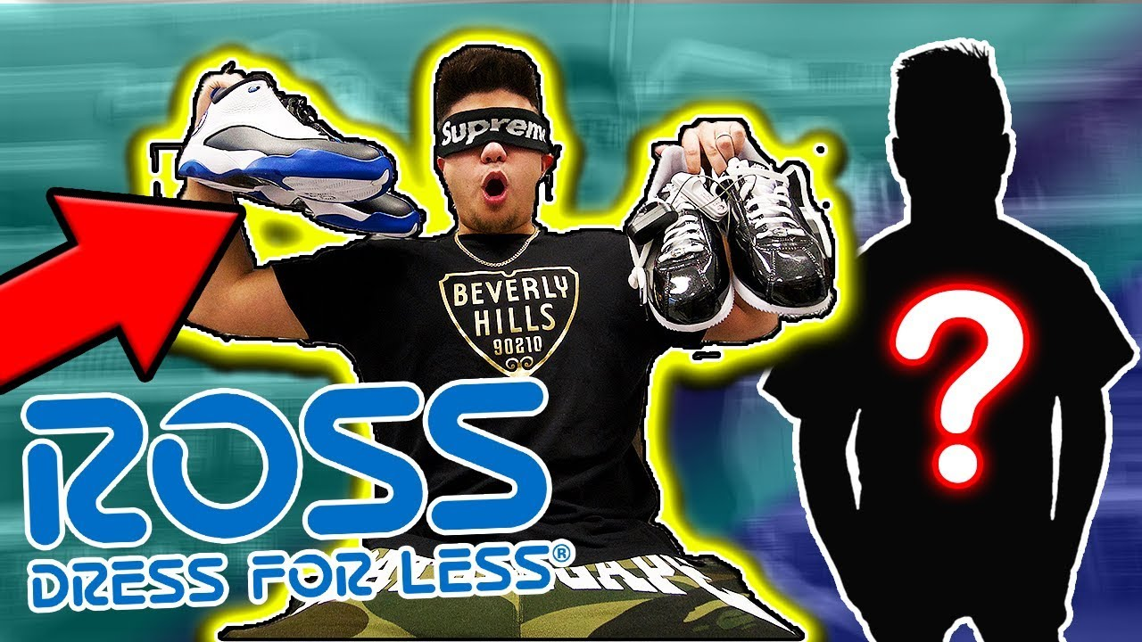 BUYING AN ENTIRE OUTFIT AT ROSS BLINDFOLDED CHALLENGE Legit Ross Vlogs - BUYING AN ENTIRE OUTFIT AT ROSS BLINDFOLDED CHALLENGE!! | Legit Ross Vlogs