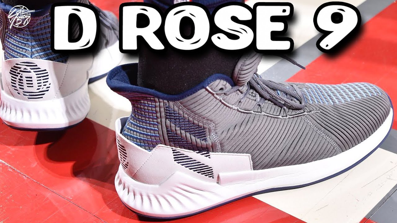 Derrick Rose Playing in the Adidas D Rose 9 - Derrick Rose Playing in the Adidas D Rose 9!