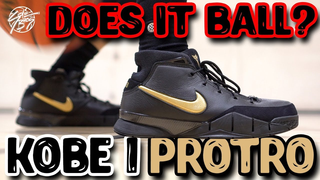 "Does It Basketball Nike Zoom Kobe 1 Protro Mamba Day Performance Review - Does It Basketball? Nike Zoom Kobe 1 Protro ""Mamba Day"" Performance Review!"