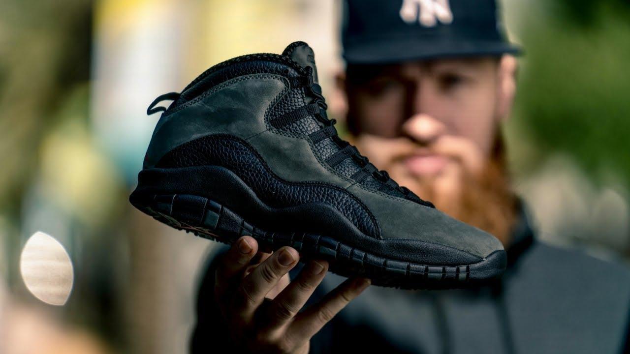 EARLY REVIEW Air Jordan 10 Shadow On Feet Look - EARLY REVIEW: Air Jordan 10 Shadow + On Feet Look!