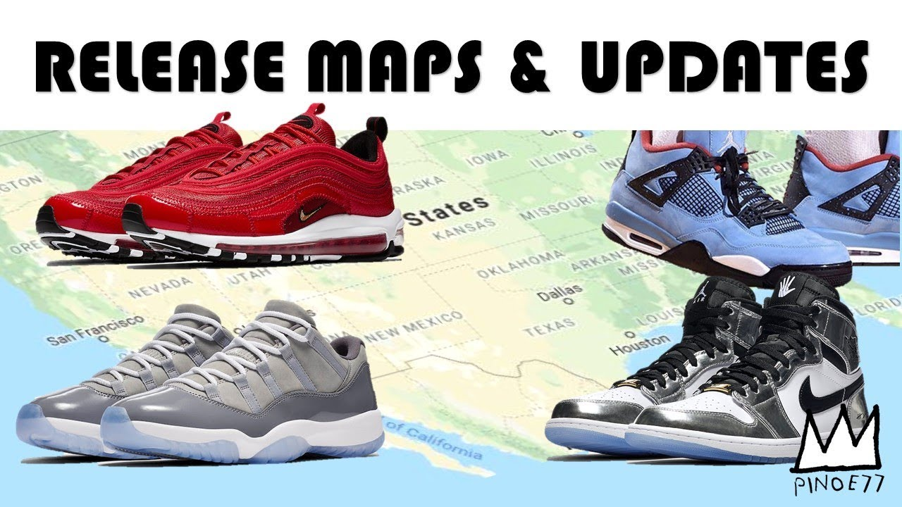 GIVEAWAY WINNER ANNOUNCEMENT, CACTUS JACK UPDATE, RELEASE MAPS & MORE!!