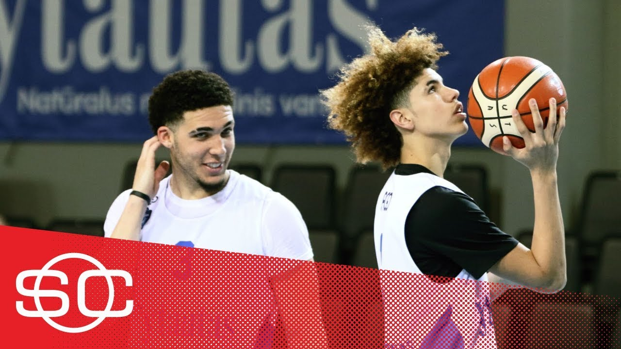 LiAngelo and LaMelo Ball leave BC Vytautas because of injuries SportsCenter ESPN - LiAngelo and LaMelo Ball leave BC Vytautas because of injuries | SportsCenter | ESPN