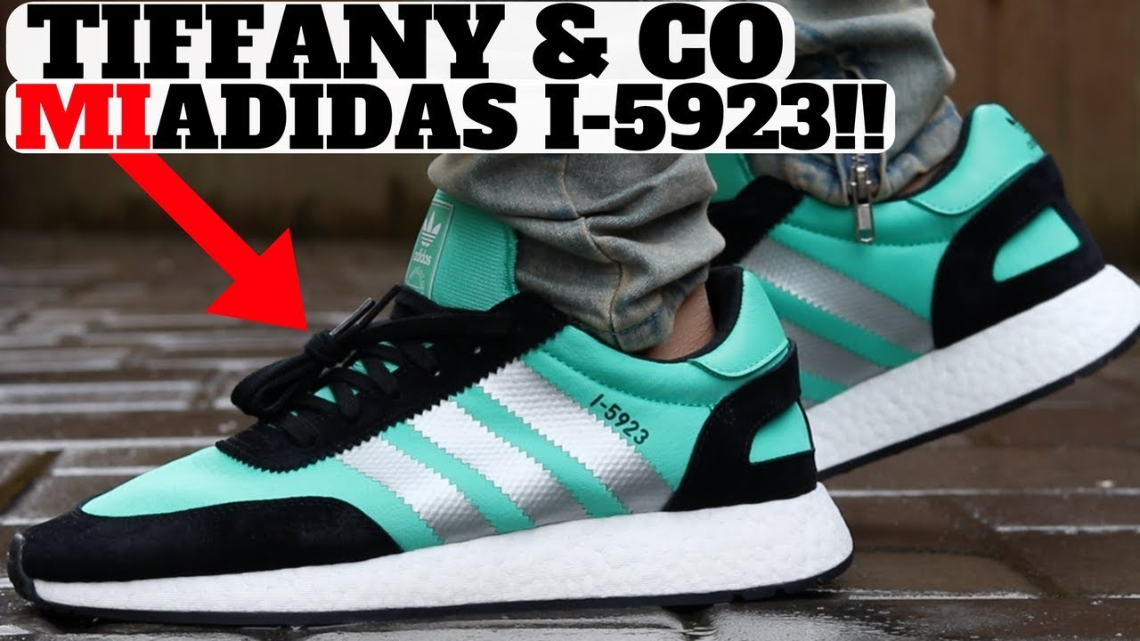 MIADIDAS Design I Made TIFFANY I 5923 Boost Unboxing Review - MIADIDAS  Design I Made!