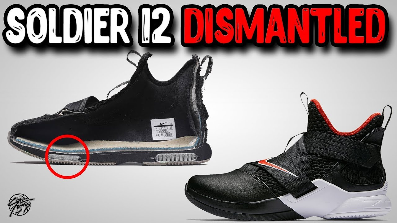 Nike Lebron Soldier 12 Dismantled - Nike Lebron Soldier 12 Dismantled!