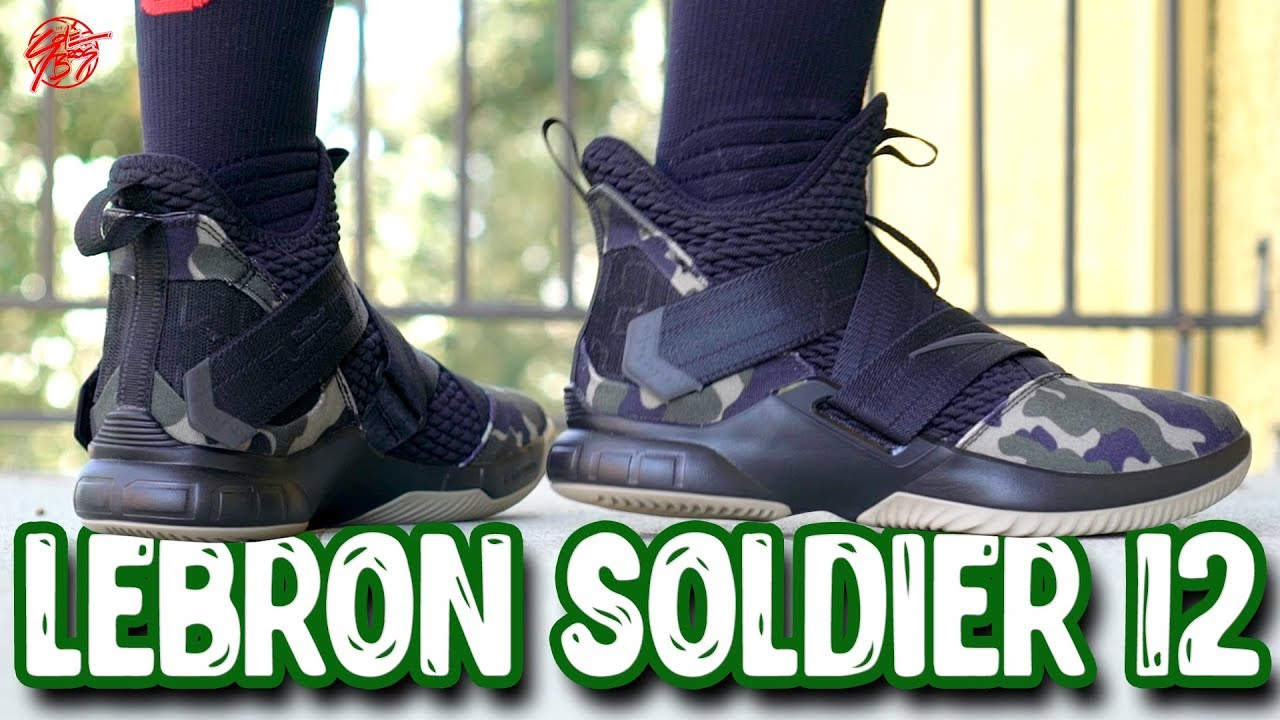Nike Lebron Soldier 12 First Impressions - Nike Lebron Soldier 12 First Impressions!