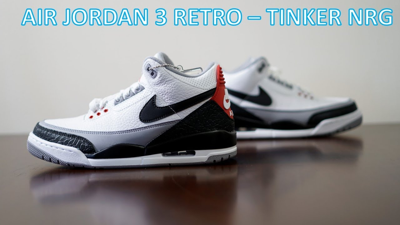 REVIEW ON FEET Air Jordan 3 Retro Tinker NRG - REVIEW & ON-FEET -