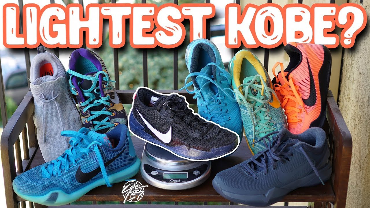 Whats The Lightest Kobe Shoe Ever - What's The Lightest Kobe Shoe Ever??