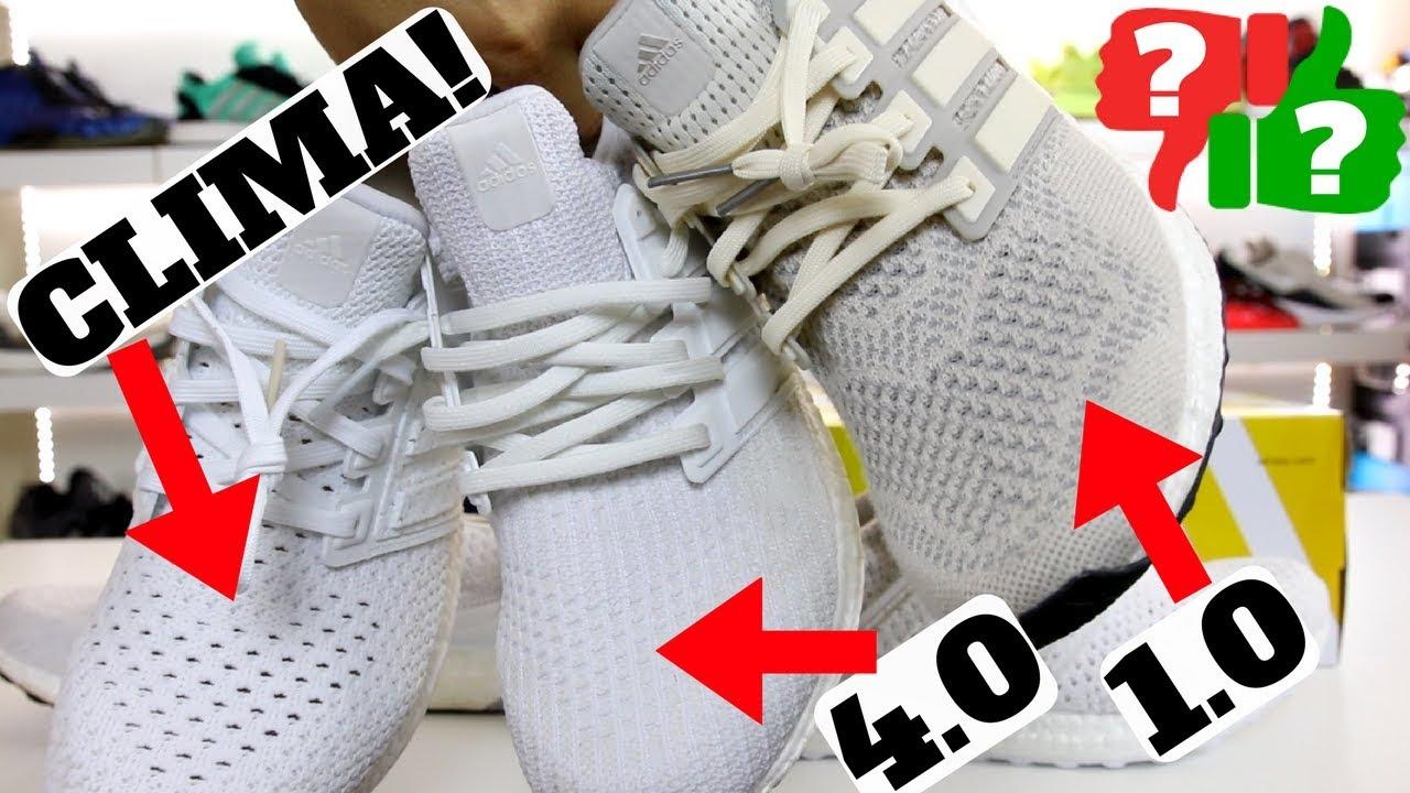 Worth Buying adidas Ultra Boost CLIMA Comparison to 1.0 4.0 Review - Worth Buying? adidas Ultra Boost CLIMA! Comparison to 1.0 & 4.0 Review