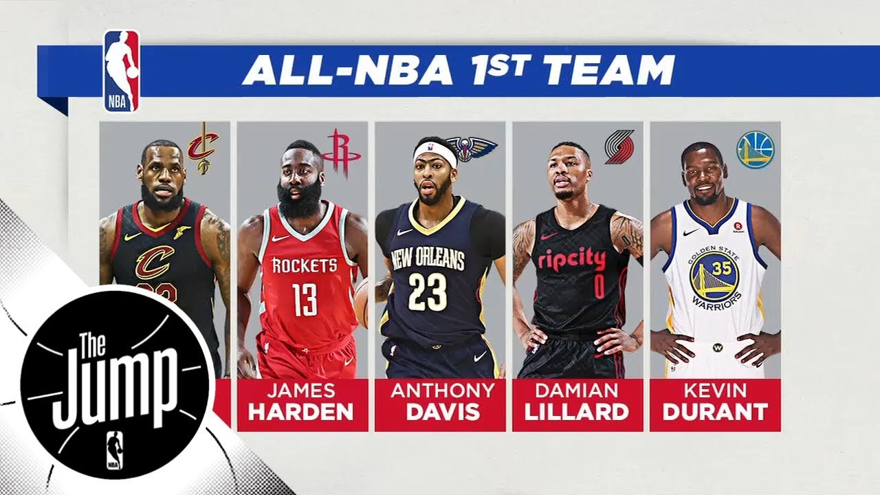 2018 All NBA teams announced Do you agree with Damian Lillard making first team The Jump ESPN - 2018 All-NBA teams announced: Do you agree with Damian Lillard making first team? | The Jump | ESPN