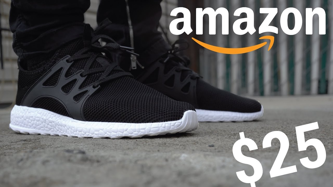 "25 AMAZON BOOST SNEAKER THAT DOESNT SUCK - $25 AMAZON ""BOOST"" SNEAKER THAT DOESN'T SUCK?!"