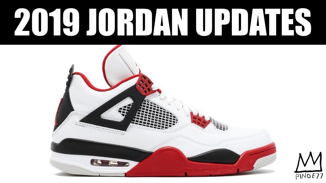AIR JORDAN 4 FIRE RED AIR JORDAN 4 THE SHOT 2018 JB UPDATES MORE - AIR JORDAN 4 FIRE RED, AIR JORDAN 4 THE SHOT, 2018 JB UPDATES & MORE!!