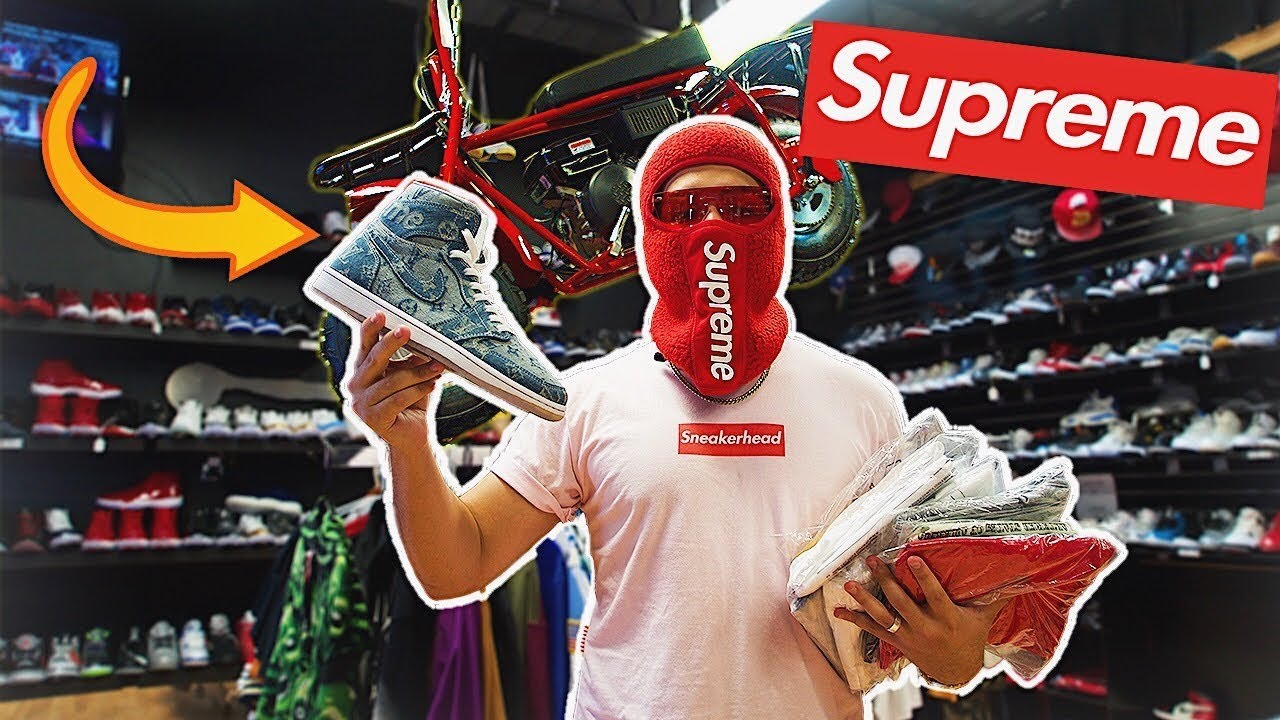 Buying My First Supreme Hypebeast Outfit - Buying My First Supreme Hypebeast Outfit!