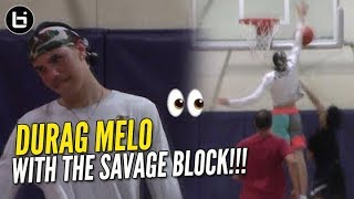 LaMelo Ball Enters DuRag Melo Mode at Your Local Pick Up Game EXTRA WAVEY - LaMelo Ball Enters DuRag Melo Mode at Your Local Pick-Up Game!! EXTRA WAVEY!!!