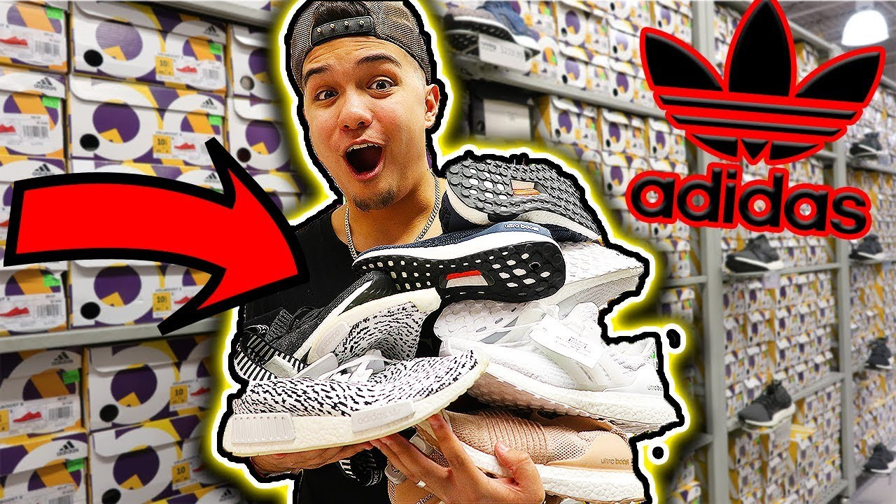 MASSIVE ADIDAS BOOST FINDS AT ADIDAS OUTLET - MASSIVE ADIDAS BOOST FINDS AT ADIDAS OUTLET!!