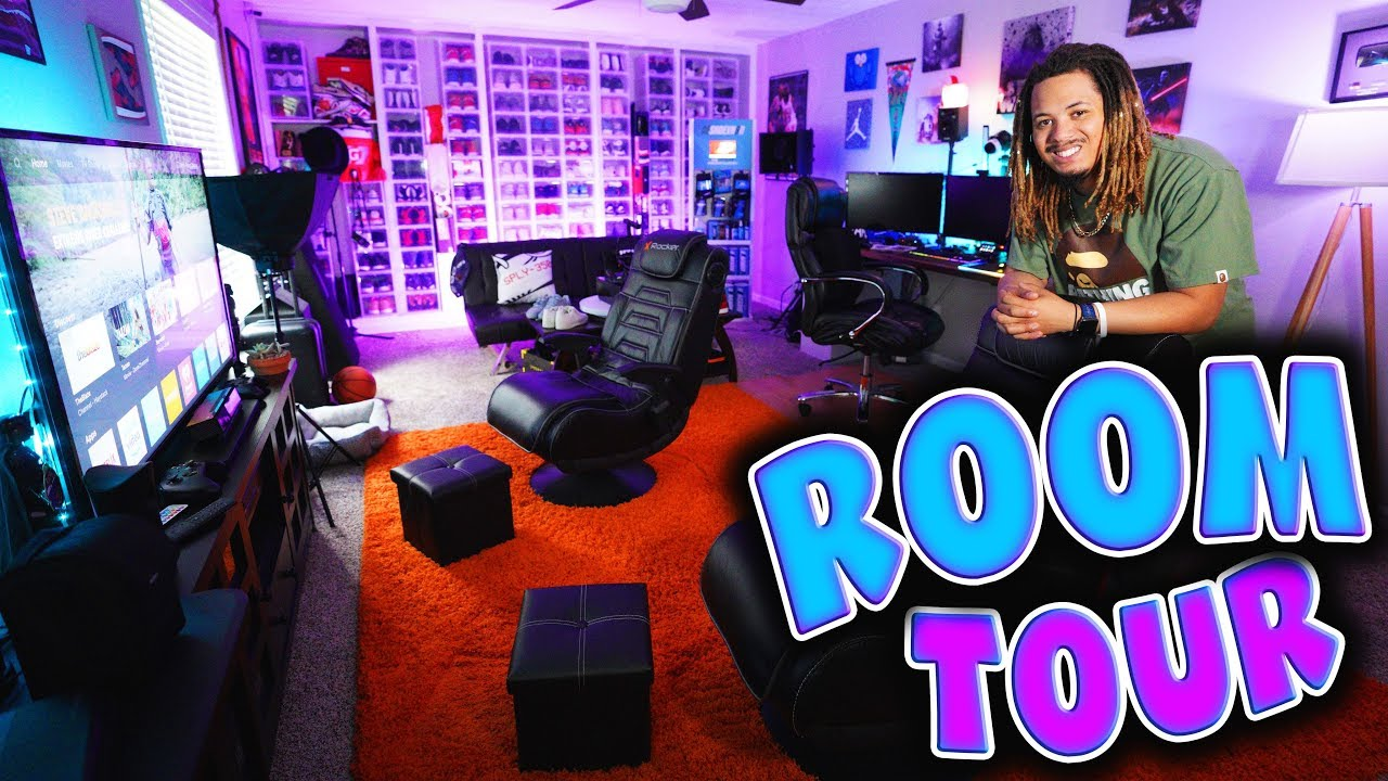 MY INSANE ROOM TOUR 2018 4 YEARS IN THE MAKING OF THE ULTIMATE GAMING AND SNEAKER SETUP  - MY INSANE ROOM TOUR 2018 !!! 4 YEARS IN THE MAKING OF THE ULTIMATE GAMING AND SNEAKER SETUP !!!