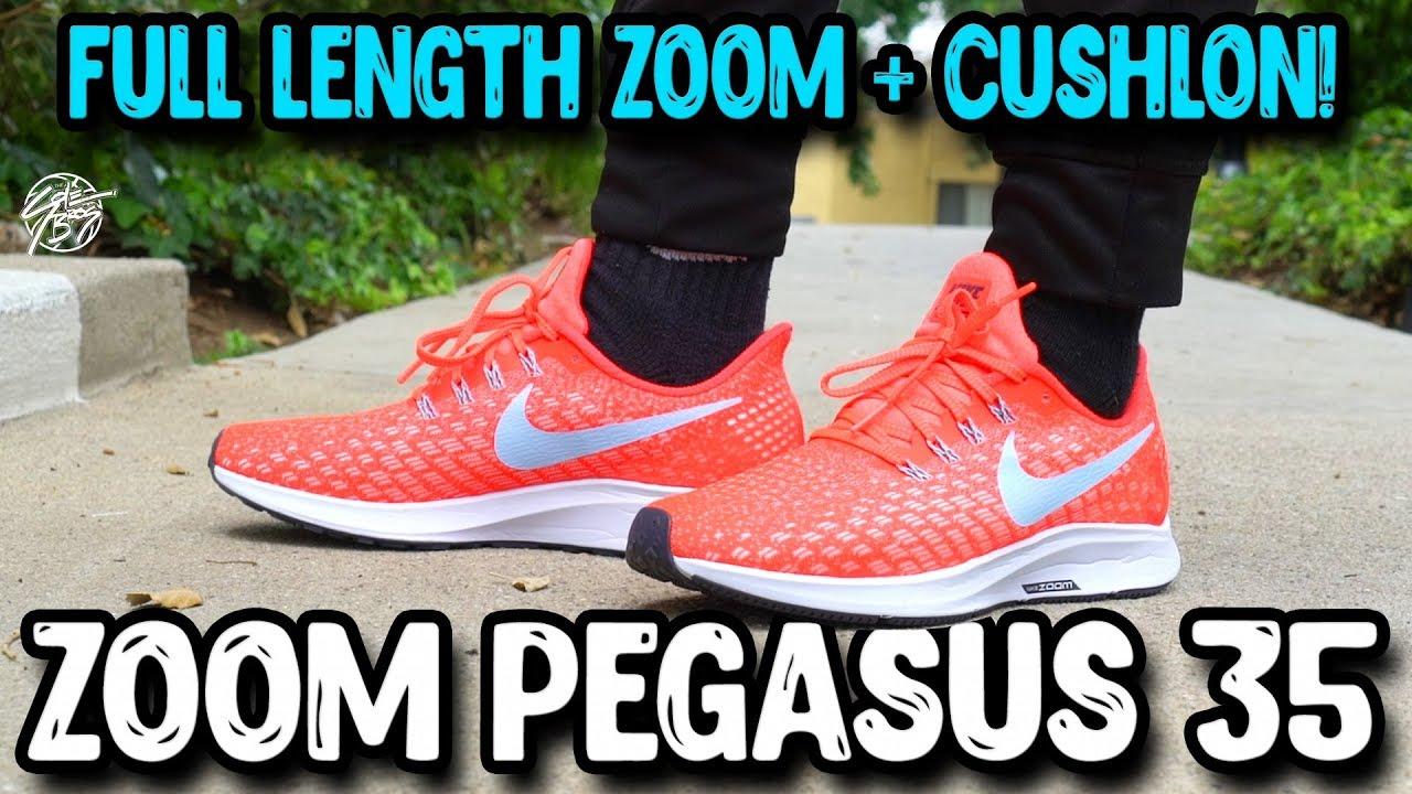Nike Air Zoom Pegasus 35 Review - Nike Air Zoom Pegasus 35 Review!