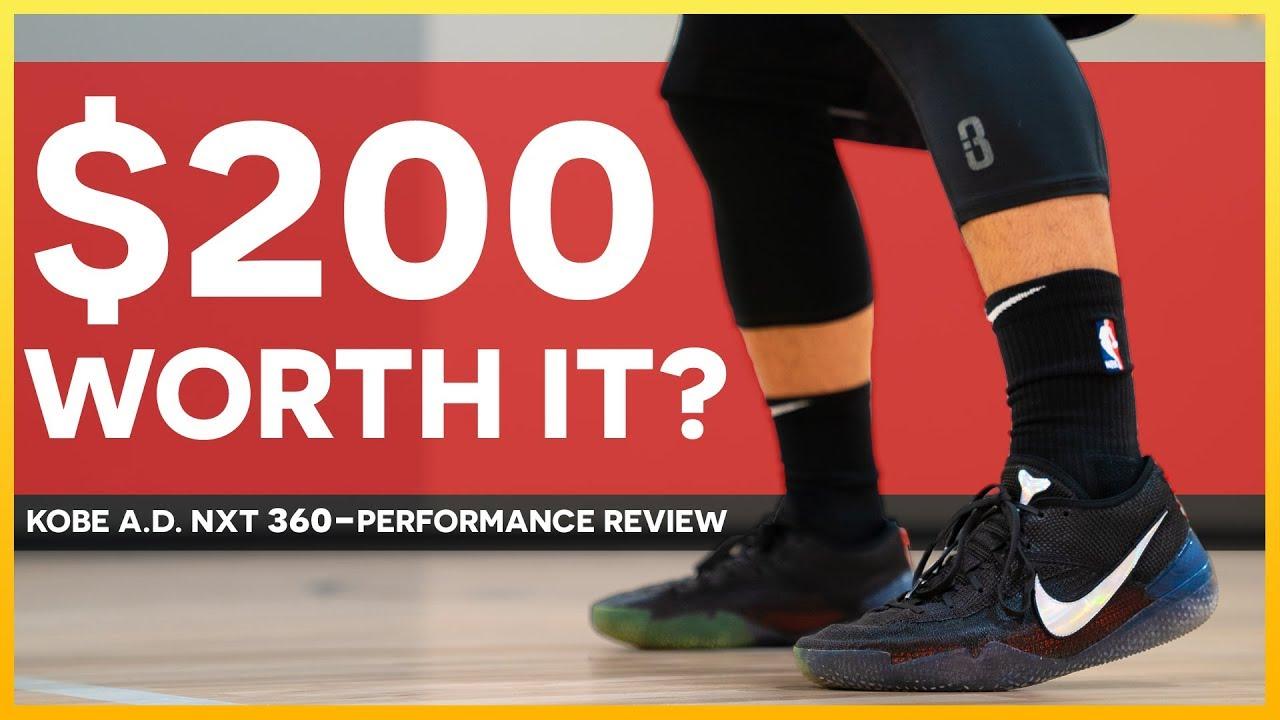 2f05417c6ec adidas harden vol. 2. Nike Kobe A.D. NXT 360 PERFORMANCE REVIEWTEST - Nike  Kobe A.D. NXT 360 - PERFORMANCE REVIEW