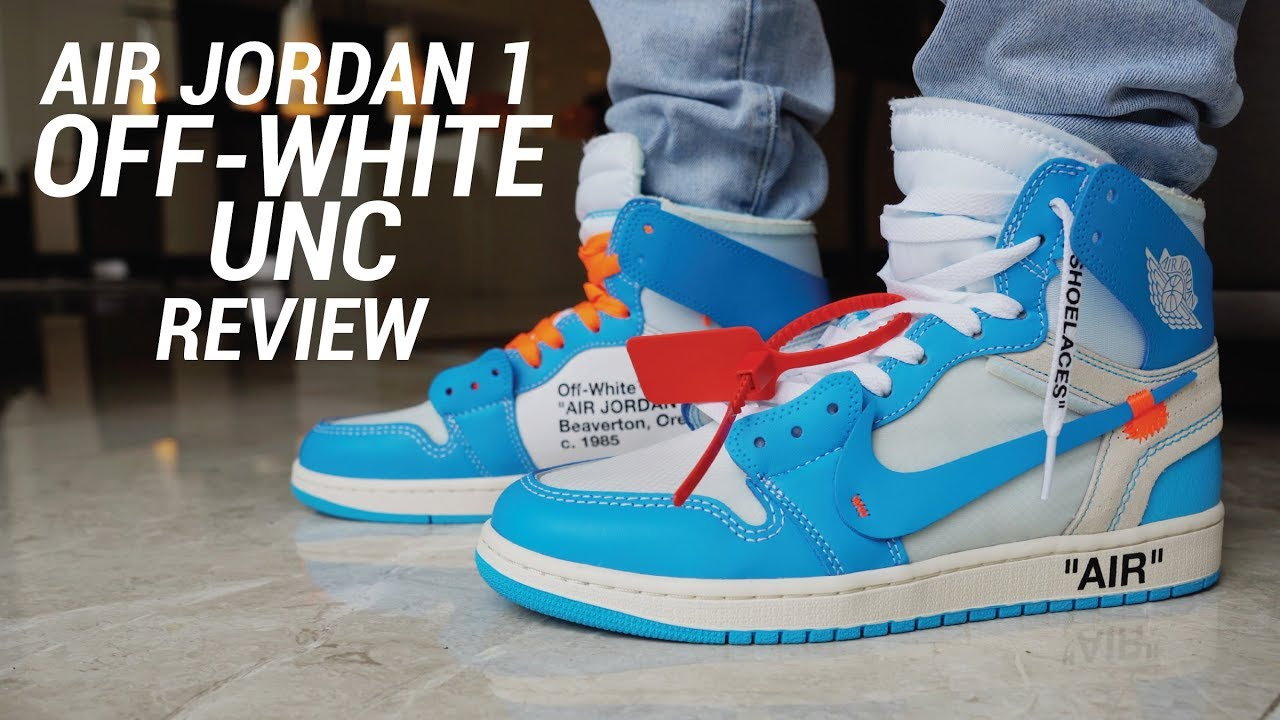OFF WHITE AIR JORDAN 1 UNC REVIEW - OFF WHITE AIR JORDAN 1 UNC REVIEW