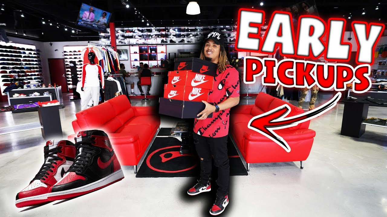 PICKING UP A TON OF UNRELEASED SNEAKERS EARLY  - PICKING UP A TON OF UNRELEASED SNEAKERS EARLY !!!