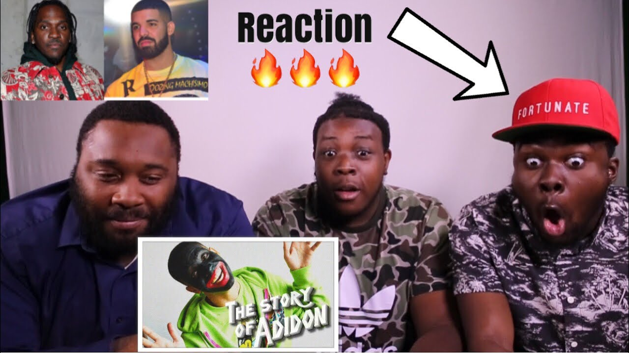 "PUSHA T THE STORY OF ADIDON DRAKE DISS REACTION VIDEO DESTROYED DRAKE ON THIS DISS TRACK - PUSHA T - ""THE STORY OF ADIDON"" (DRAKE DISS) REACTION VIDEO! DESTROYED DRAKE ON THIS DISS TRACK!"