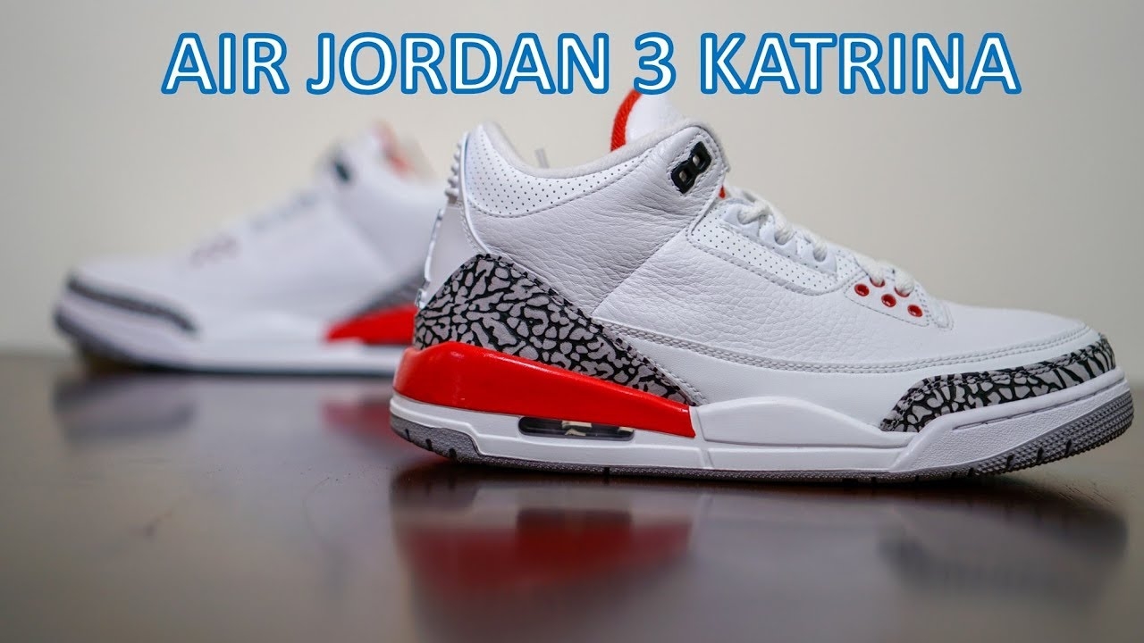 "Review Air Jordan 3 Katrina Hall of Fame - Review - Air Jordan 3 Katrina ""Hall of Fame"""