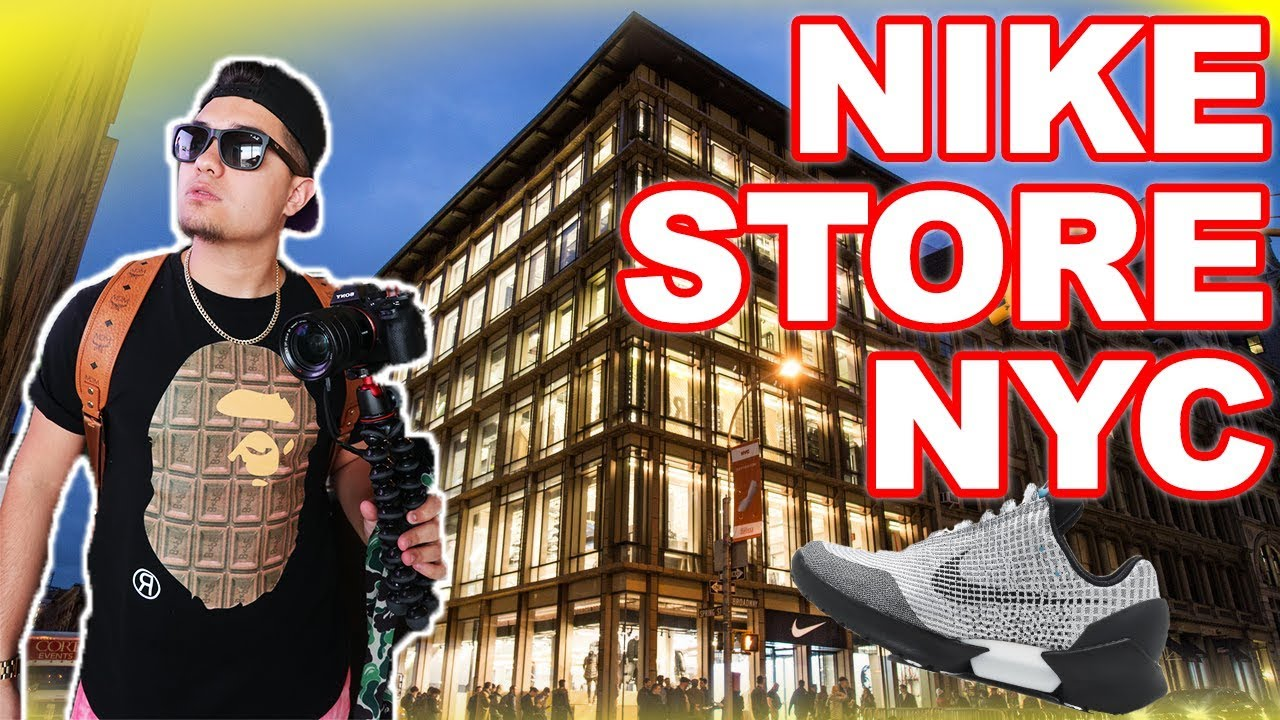 SHOPPING IN 6 STORY NIKE STORE RARE SNEAKER EVERYWHERE - SHOPPING IN 6 STORY NIKE STORE!! **RARE SNEAKER EVERYWHERE**