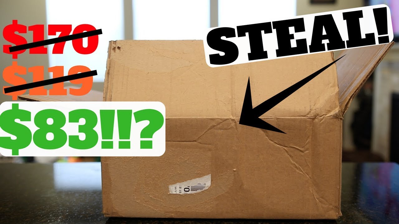 Unboxing CRAZY STEAL on These Shoes - Unboxing: CRAZY STEAL on These Shoes!