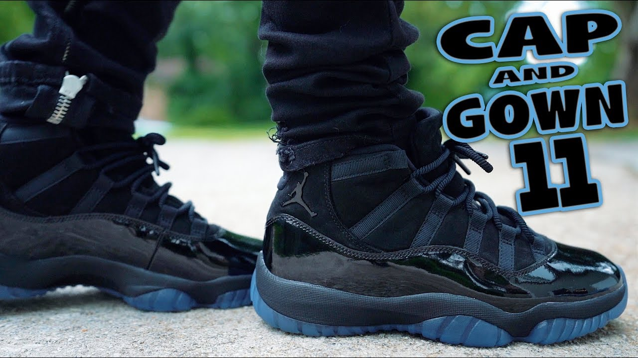 WILL YOU COP AIR JORDAN 11 CAP AND GOWN REVIEW AND ON FEET  - WILL YOU COP ?!? AIR JORDAN 11 CAP AND GOWN REVIEW AND ON FEET !!!