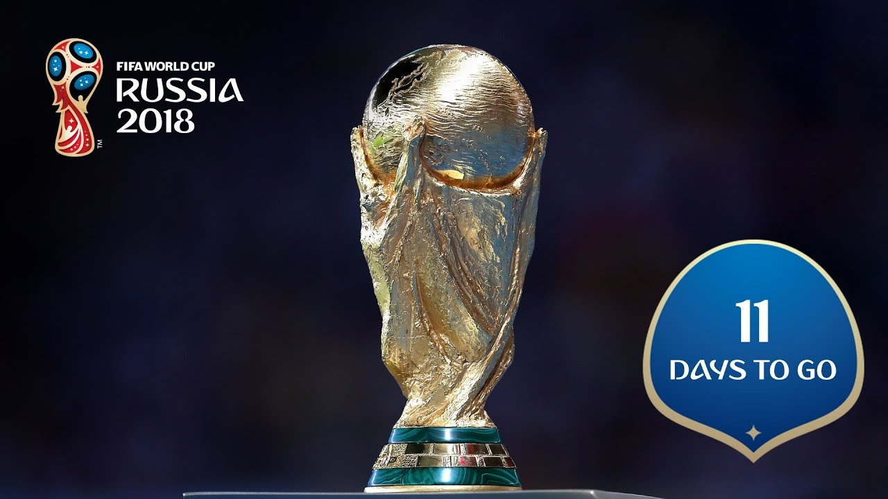 11 DAYS TO GO Lifting the FIFA World Cup Trophy - 11 DAYS TO GO! Lifting the FIFA World Cup Trophy